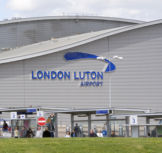 Leicester To Luton Airport Taxi Transfer